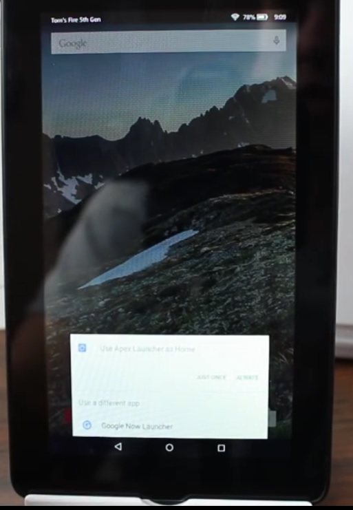 Rooted Kindle Fire video screenshot