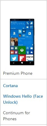 Windows Premium phone