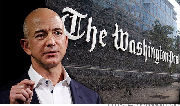 The Washington Post Prospers Under Jeff Bezos S Leadership