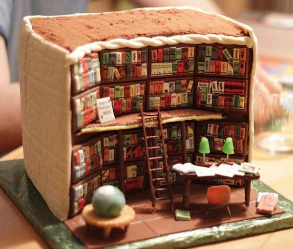 book-cake