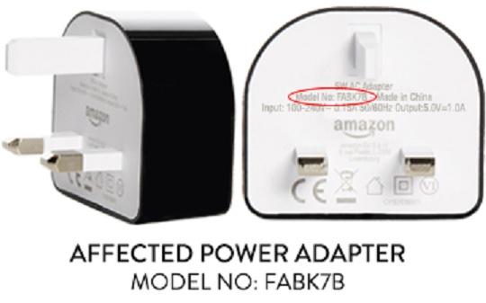 Amazon UK charger