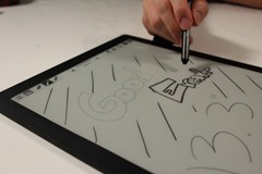e-ink tablet