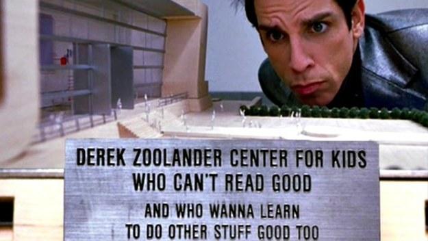 Zoolander books