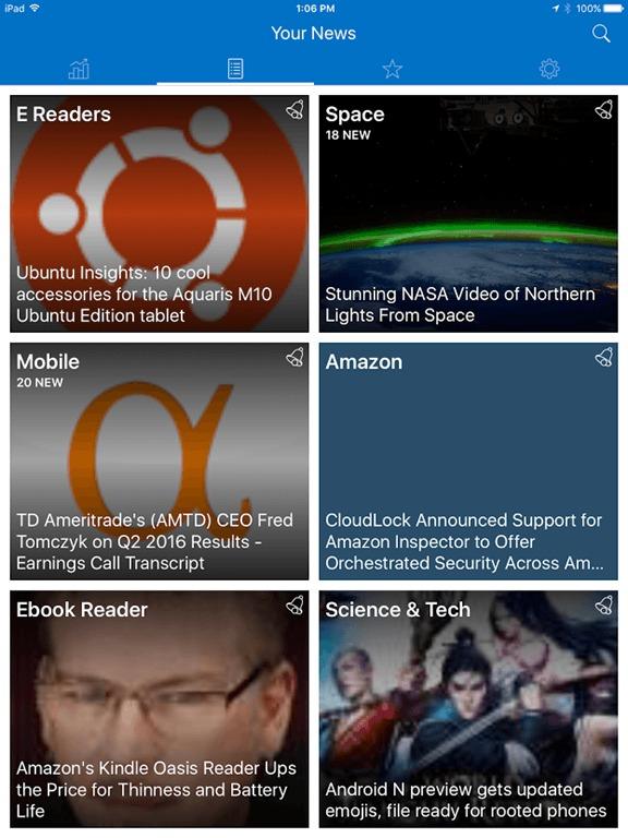 iOS e-reader app review: Algo news aggregator | TeleRead