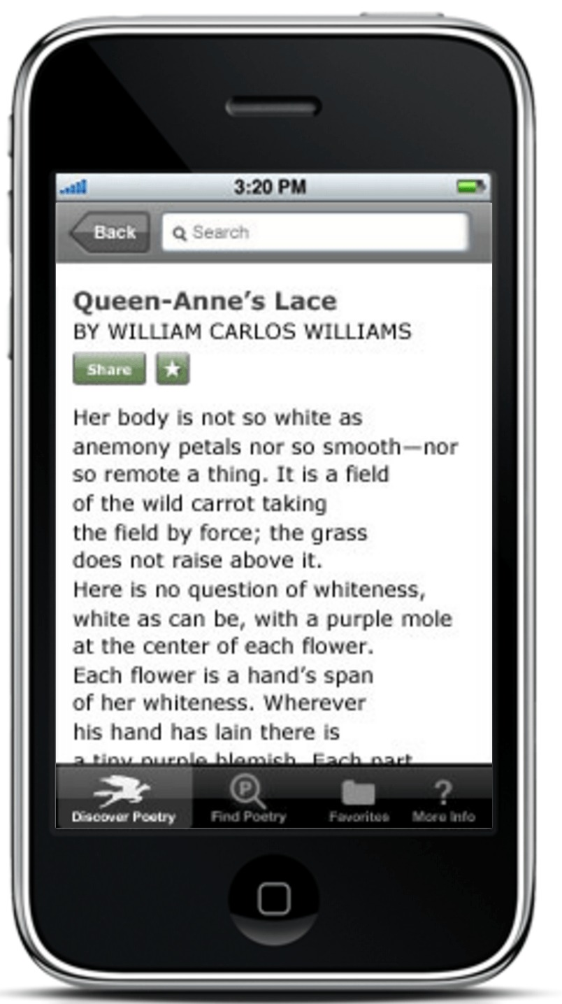poetry foundation app